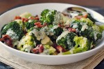 Broccoli with Cheese Sauce and Pancetta 264